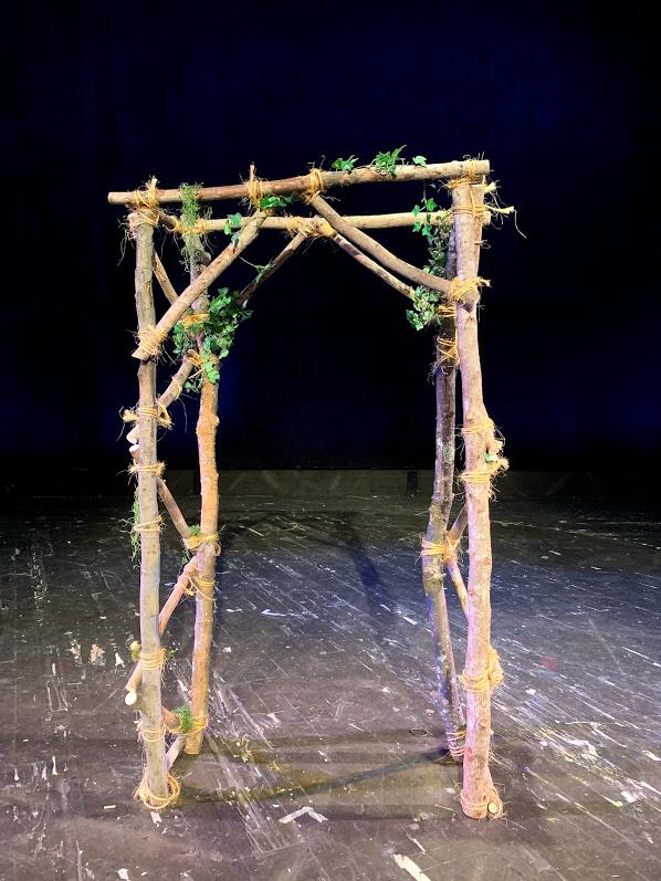 Pergola, Wood Rustic Arch