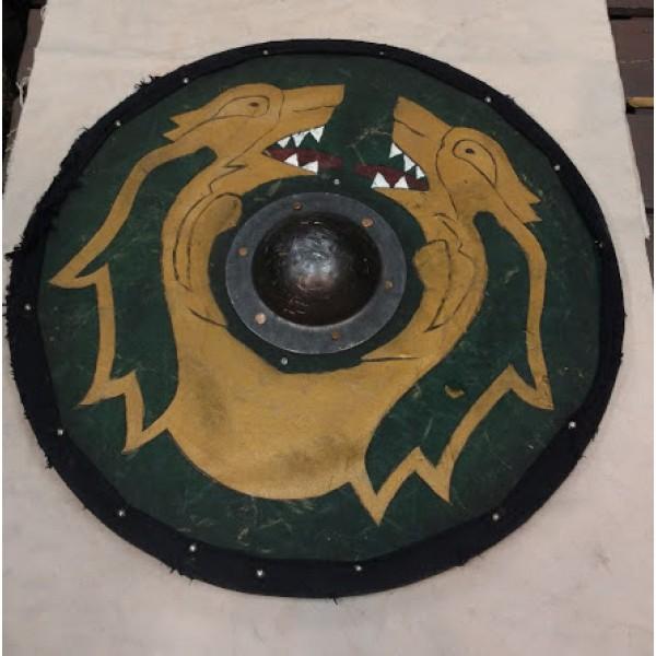 Shield, Persian Green