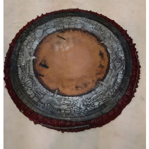 Shield, Red Rustic