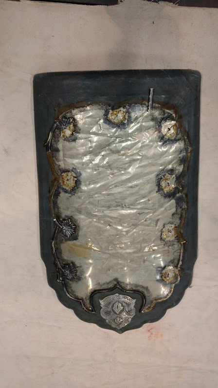 Shield, Small Arabian Silver