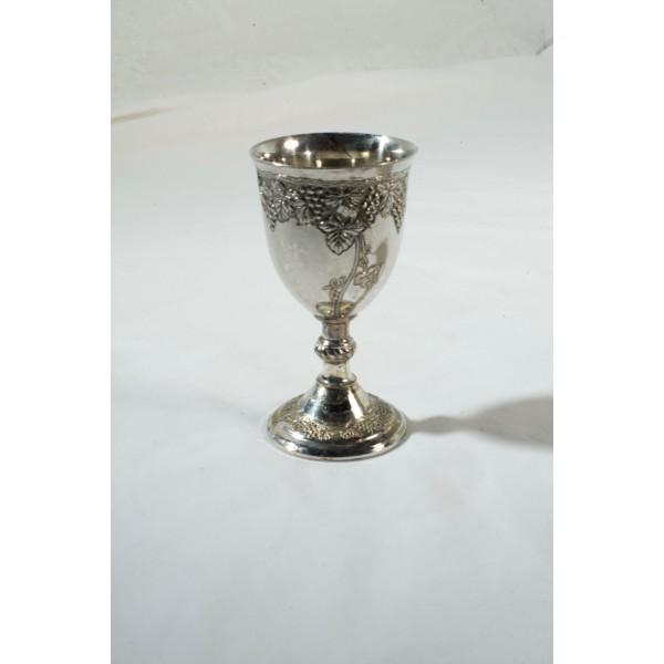 Goblet, Silvery Ornate