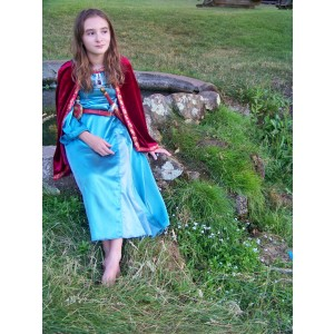 Narnia LWW Lucy Pevensie Blue Dress 1