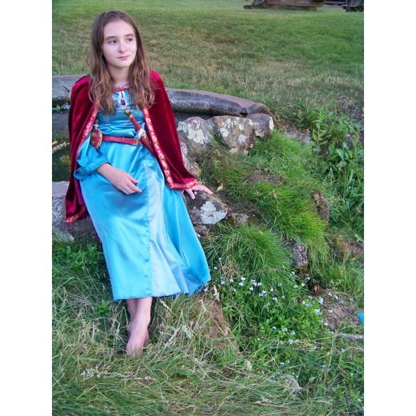Narnia LWW Lucy Pevensie Blue Dress 1
