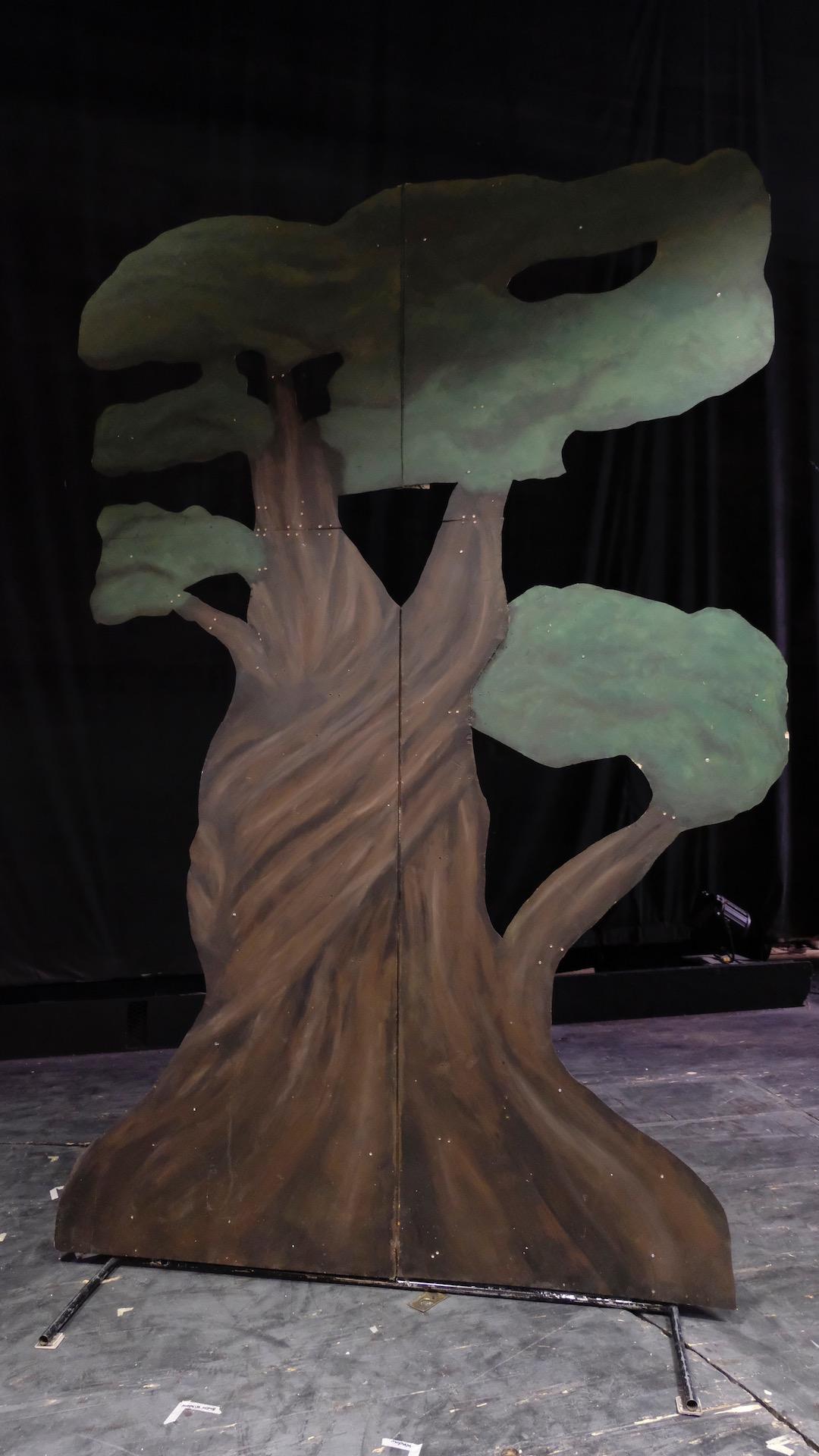 Boy Who Cried Wolf Tree Standee
