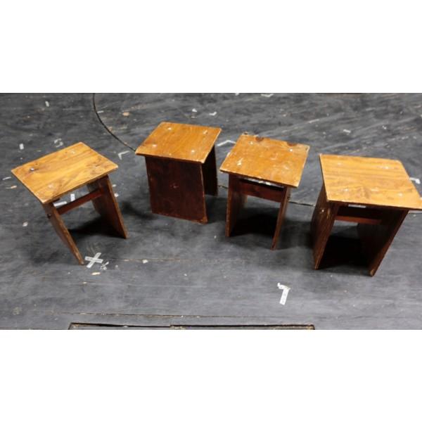 Wooden Mini Bench 2