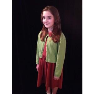 Narnia LWW Lucy Pevensie Maroon Dress