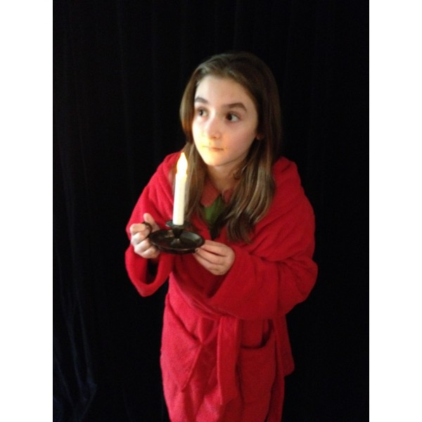 Narnia LWW Lucy Pevensie Red Robe