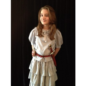 Narnia LWW Lucy Pevensie Flower Dress