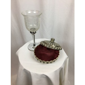 Turkish Delight Jar and Goblet