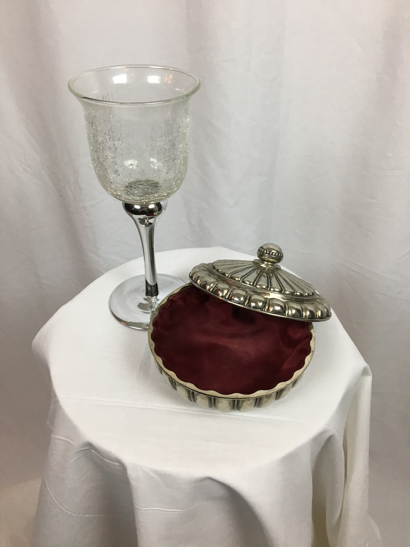 Turkish Delight Jar and Goblet