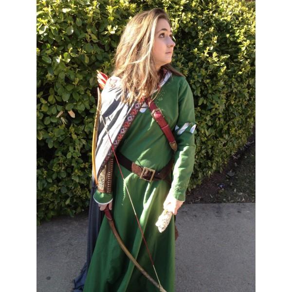 Narnia LWW Susan Pevensie Green Battle Dress 1