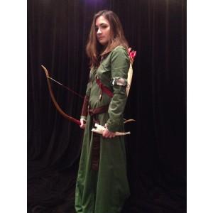 Narnia LWW Susan Pevensie Green Battle Dress 1 2