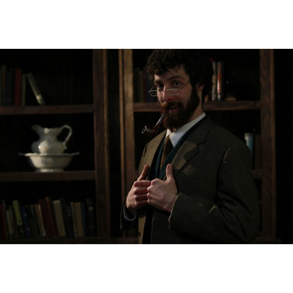 Narnia LWW 1940s – Men's Full Outfit, Grey Vest, Professor