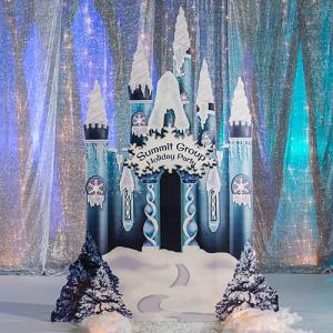 Winter Castle Standee