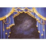 Blue Curtain small 1