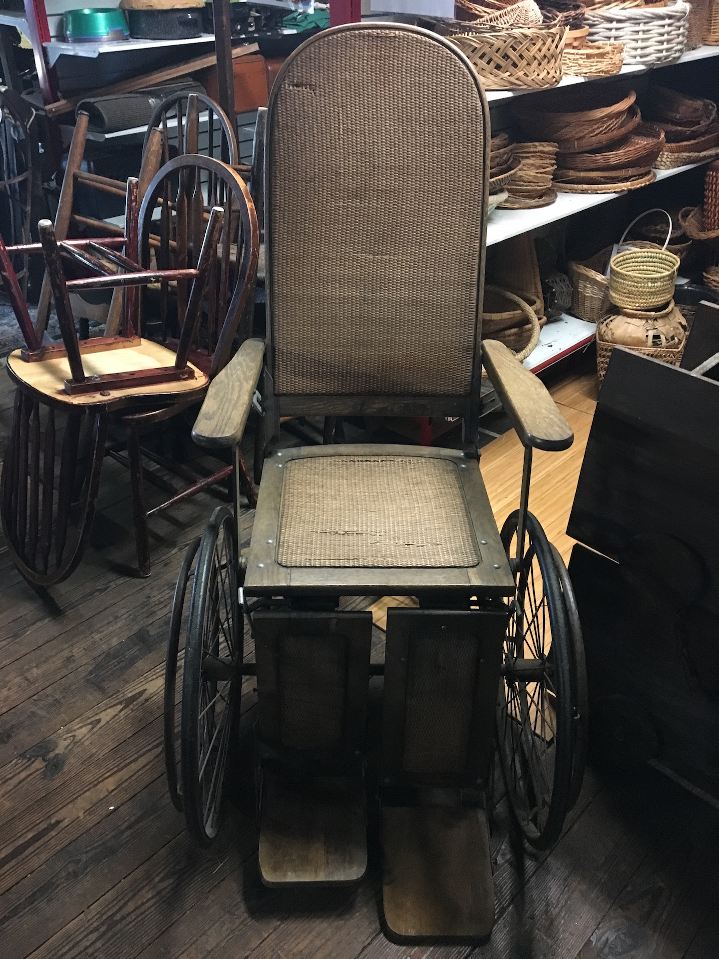 Wheel chair, Vintage