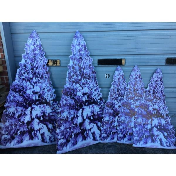 Winter Tree Standees 2
