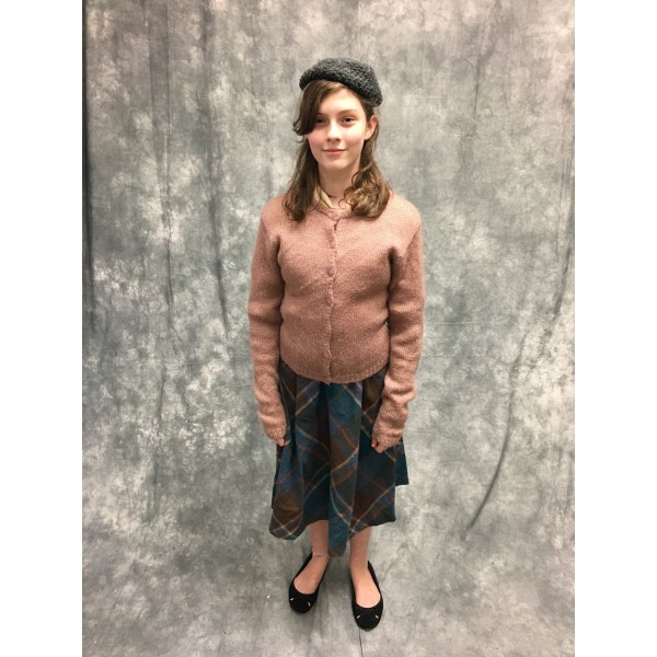 Narnia LWW Susan Pevensie Wartime Costume 1