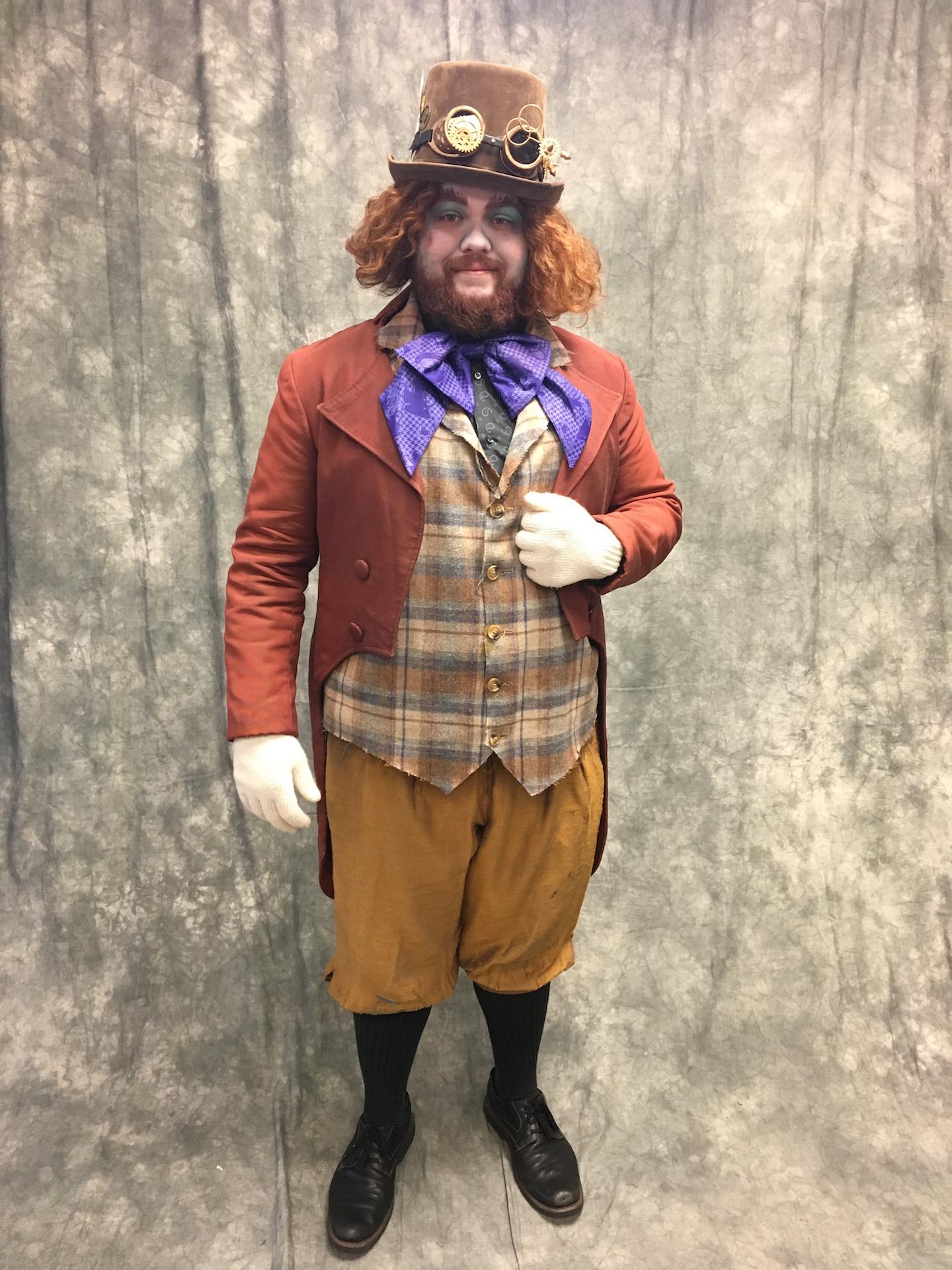 Mad Hatter Costume 2