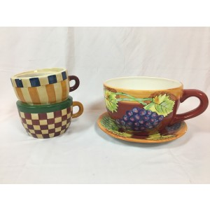 Alice, Oversized Unique Teacups