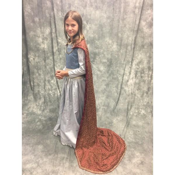 LWW Narnia Lucy Pevensie Coronation Costume