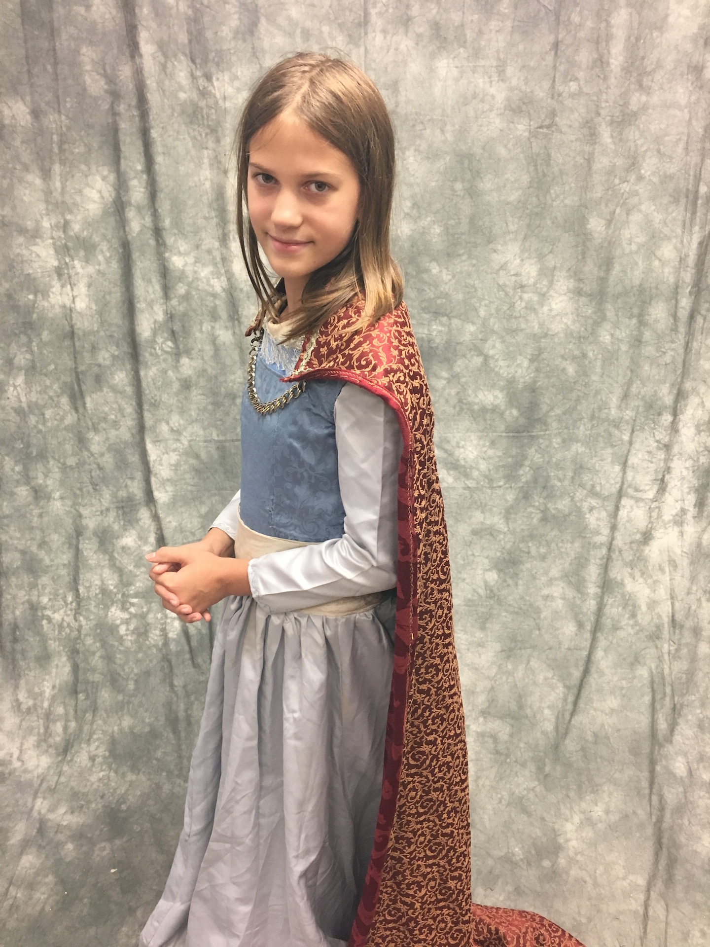 LWW Narnia Lucy Pevensie Coronation Costume