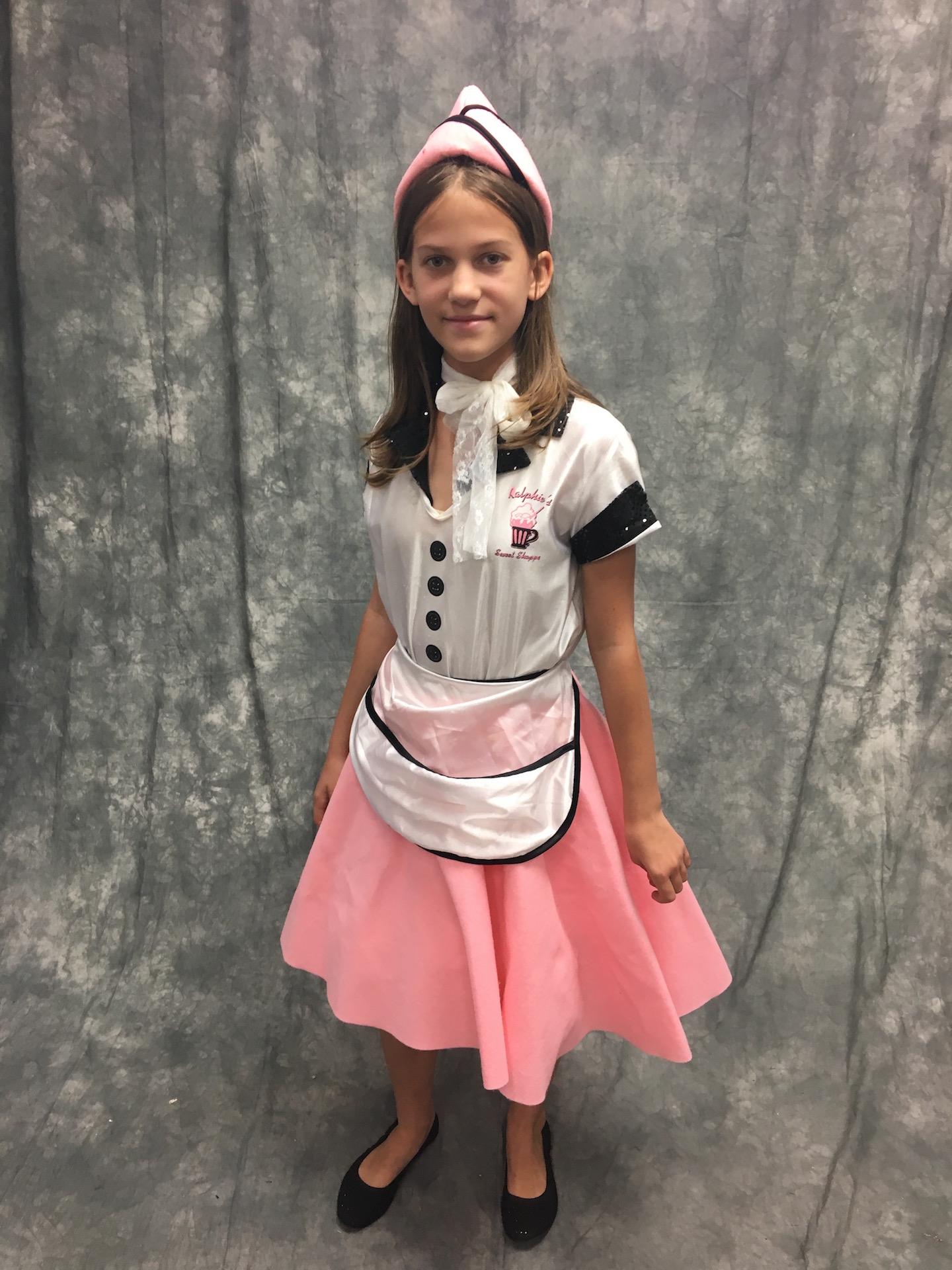 50's Diner Waitress Dress
