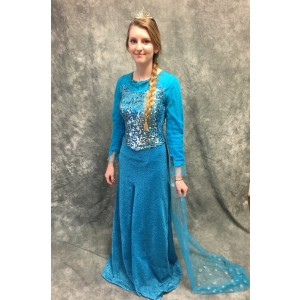 Frozen Elsa Costume vs1