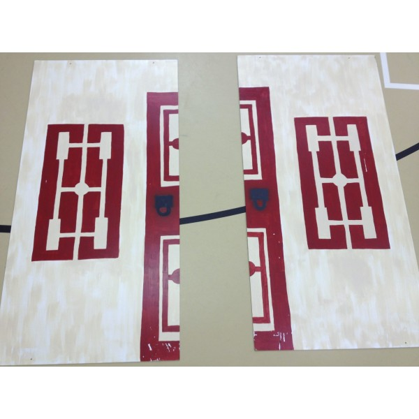 Mulan Wood Panel Backdrop, Matchmaker Home