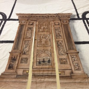 Narnia Wardrobe Fabric Backdrop