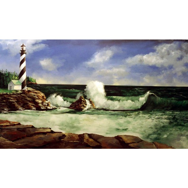 Lighthouse Backdrop