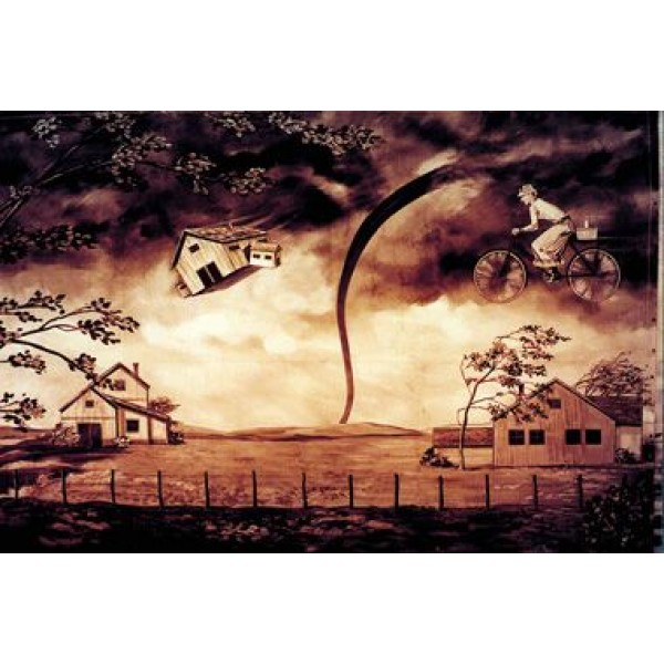 Dorothy's Twister Oz Backdrop