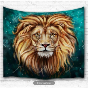 Aslan Lion Backdrop
