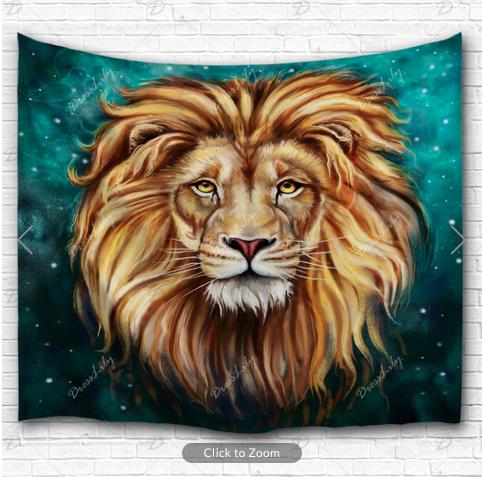 Aslan Lion Backdrop