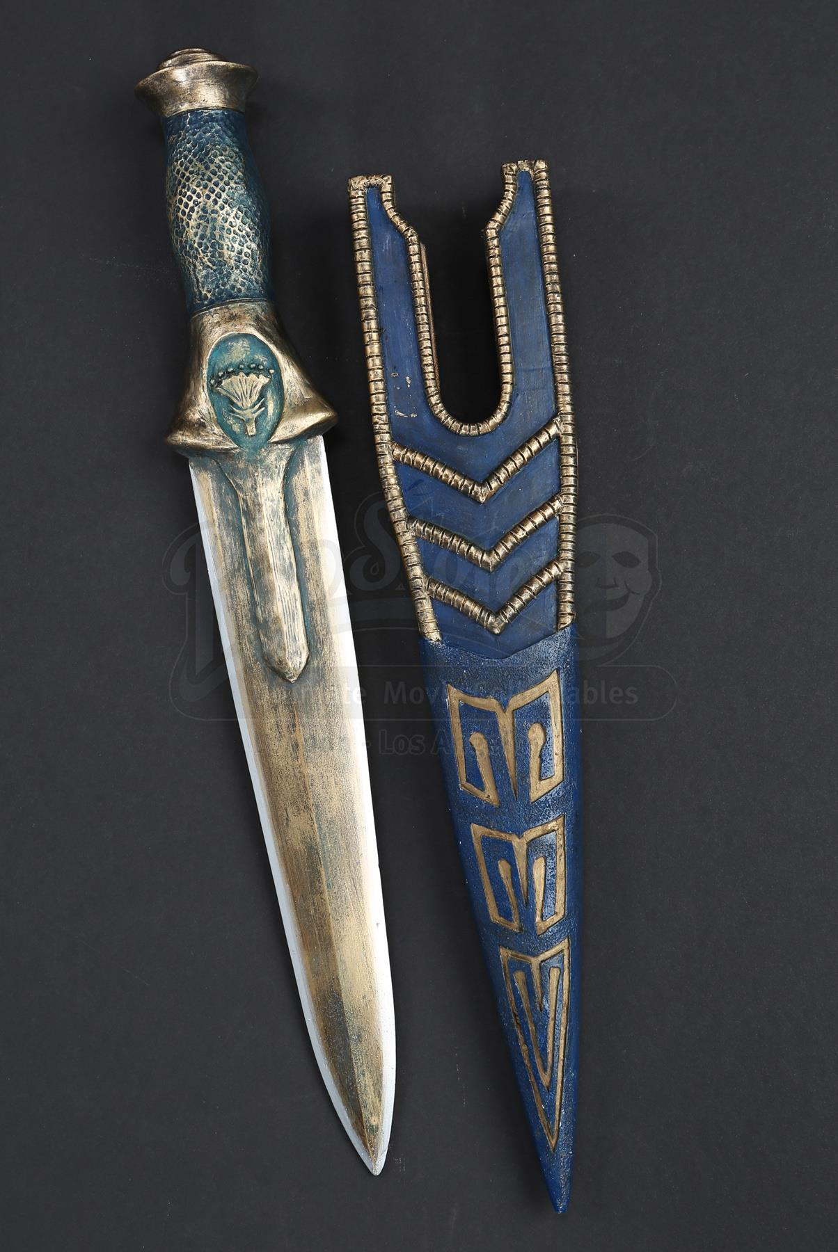 Egyptian Dagger, Blue
