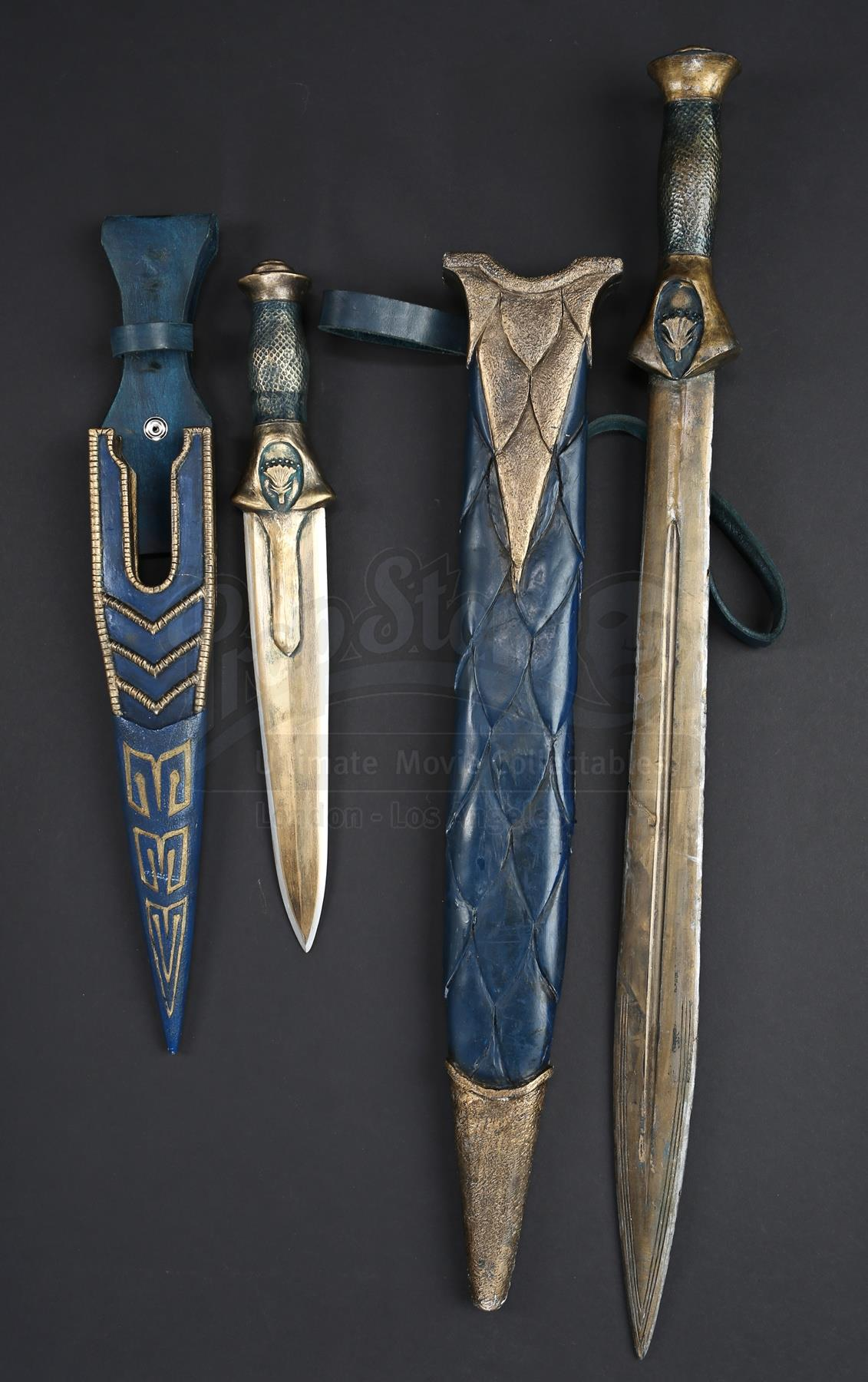 Egyptian Sword, Blue