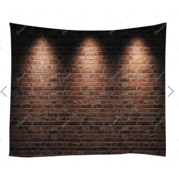 Brick Lighting Backdrop
