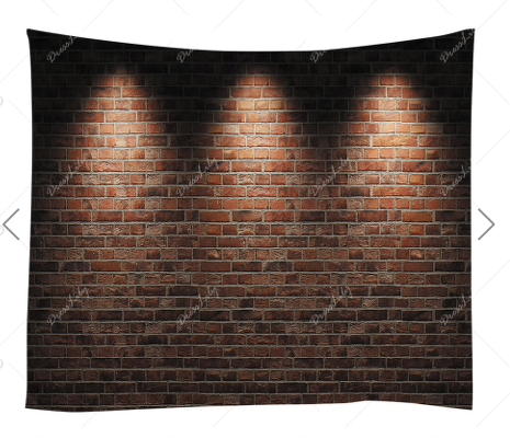 Brick Lighting Backdrop