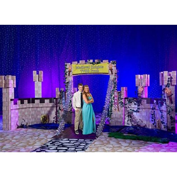 Cardboard Castle 3D Display