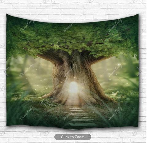 Final Passage Tree Backdrop