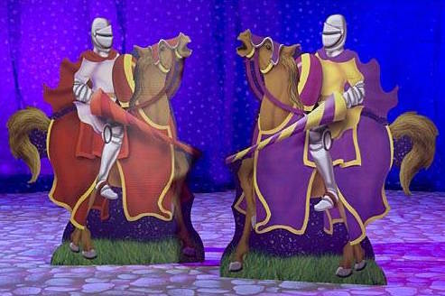 Knight on Horse Standee