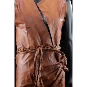 Biblical Leather Tunic