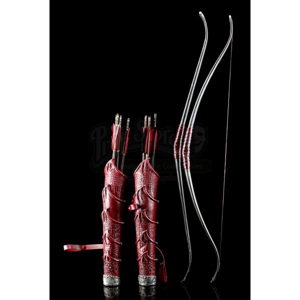 Egyptian Bow and Quiver