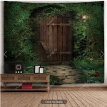 secret garden door H91xW71