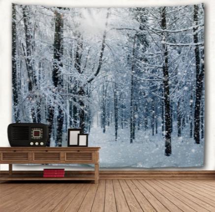 Winter Flurries Backdrop