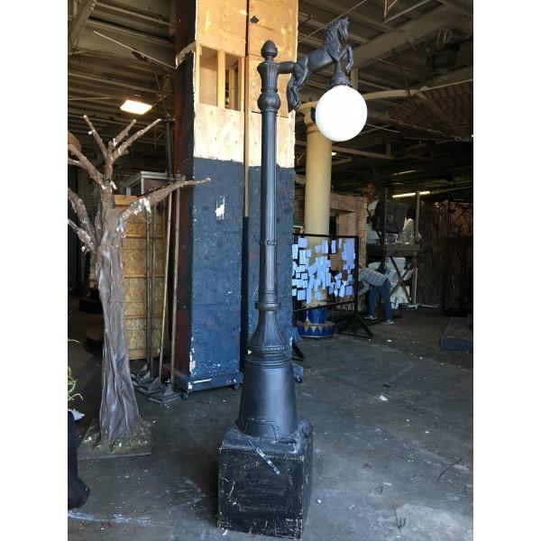 Lamppost, Horse Globe