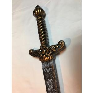 Sword, Gold Handle