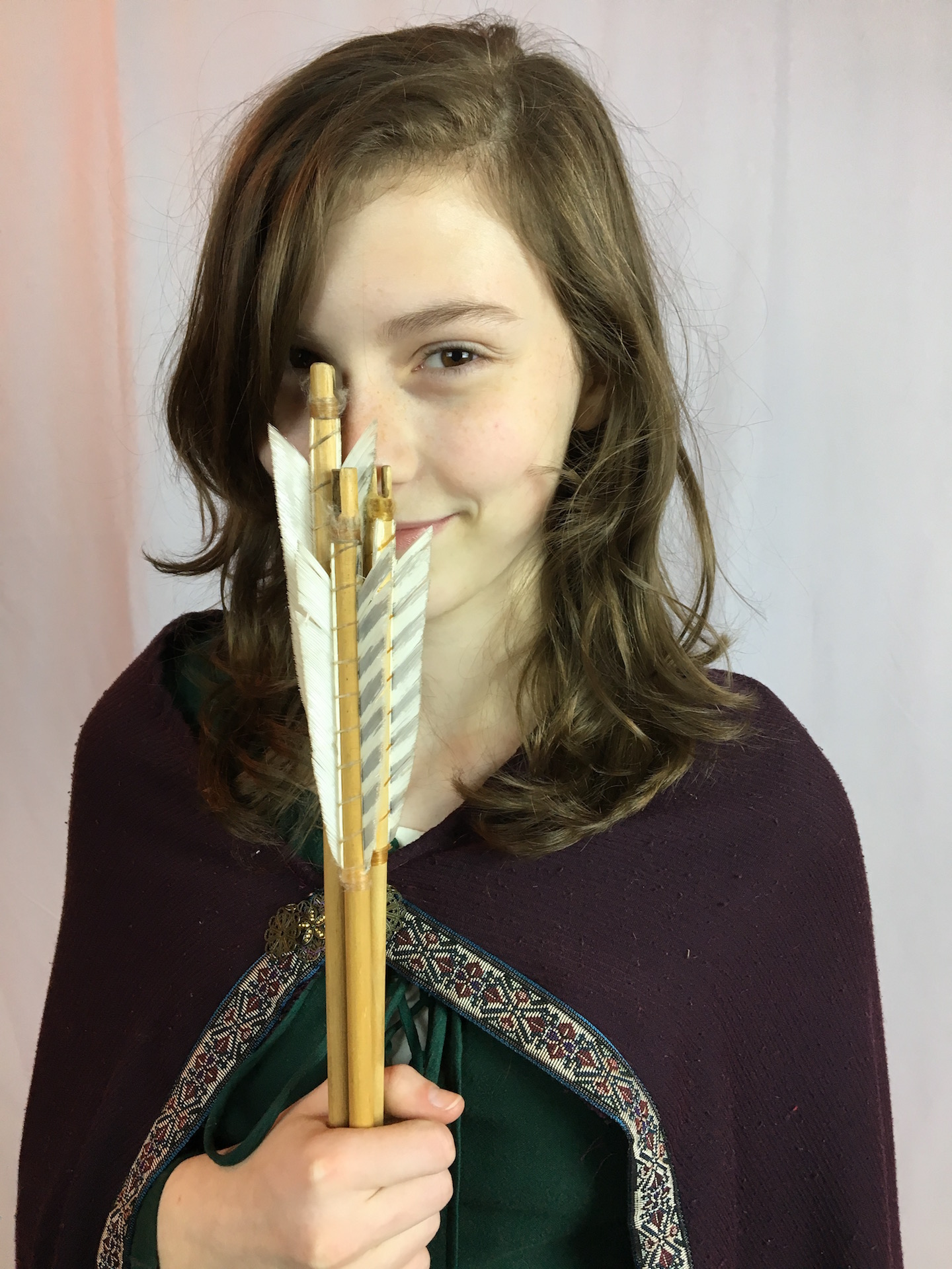 Narnia LWW Susan Pevensie Green Battle Dress 2