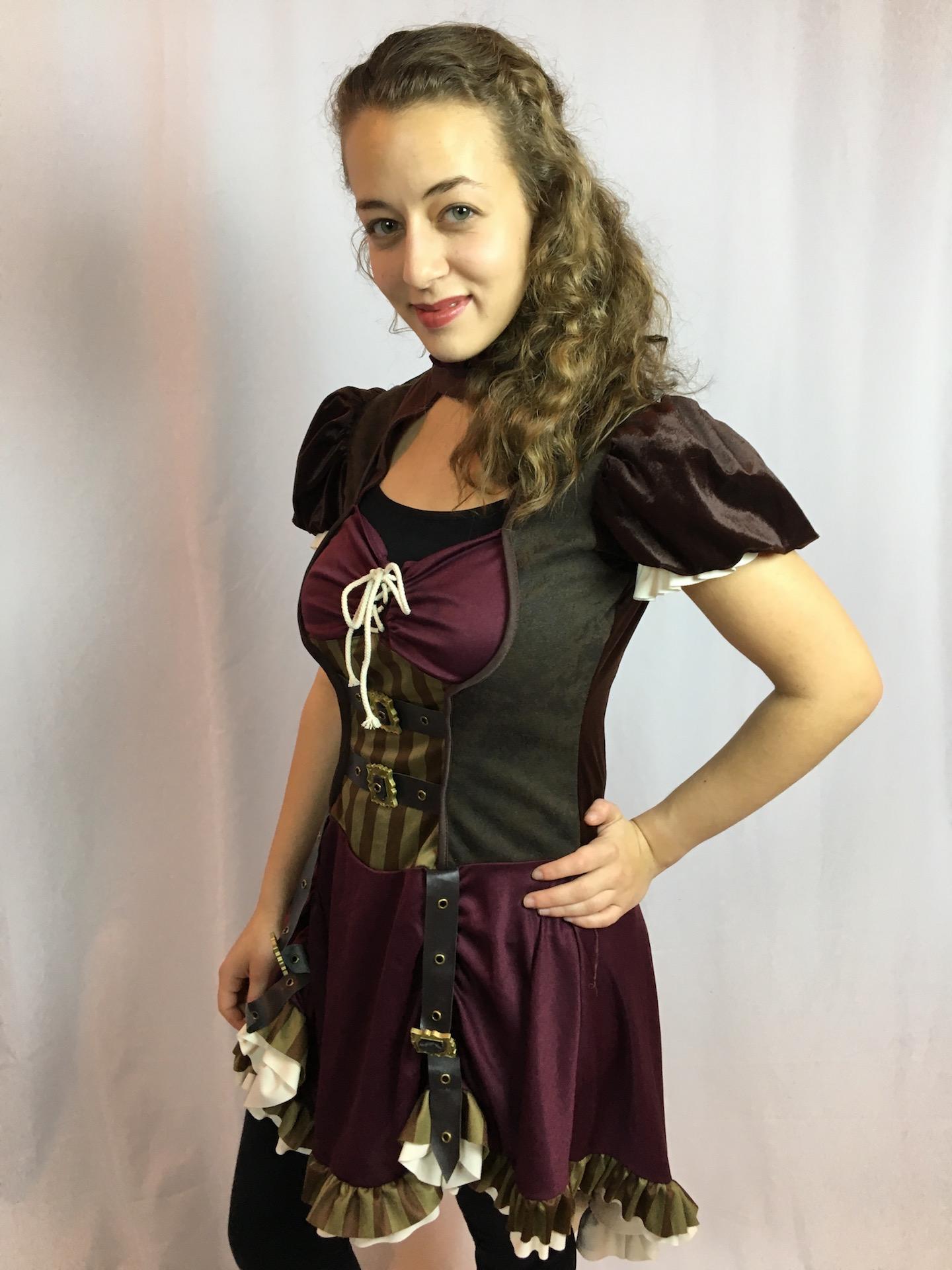 Steampunk Costume Female 2