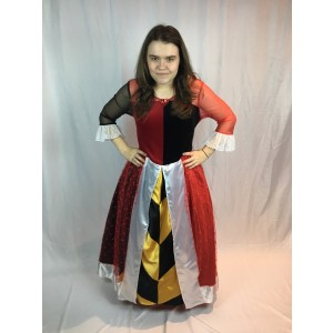 Alice Queen of Hearts Costume 2